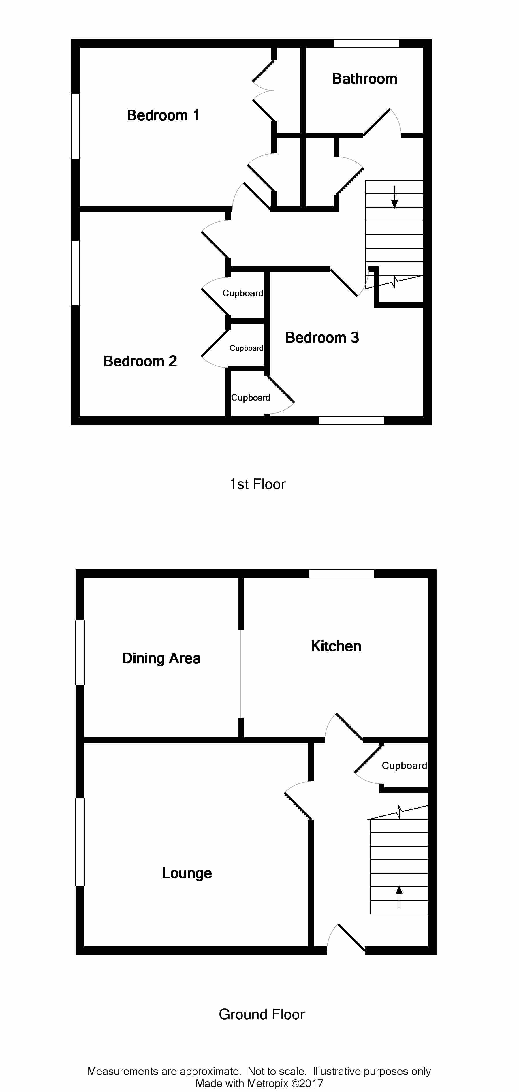 Floor Plan for 15 Arran Court