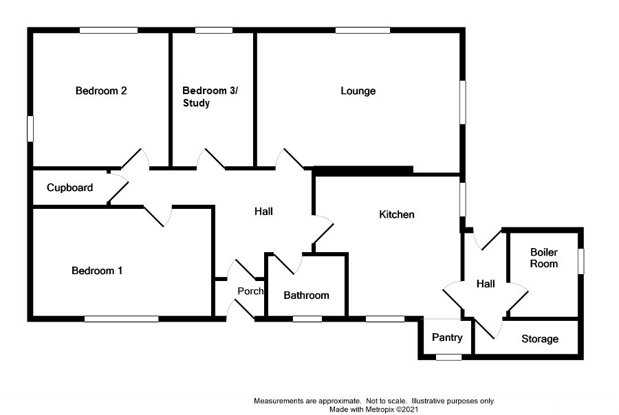 Floor Plan for 1 Penwhirn Dam