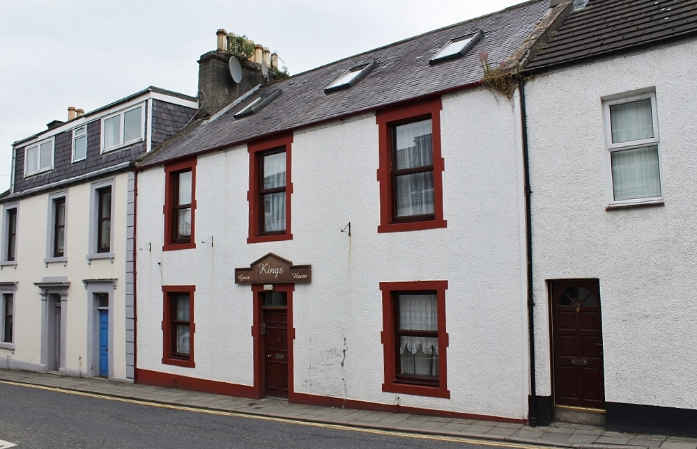 Photograph of 21 King Street, Stranraer