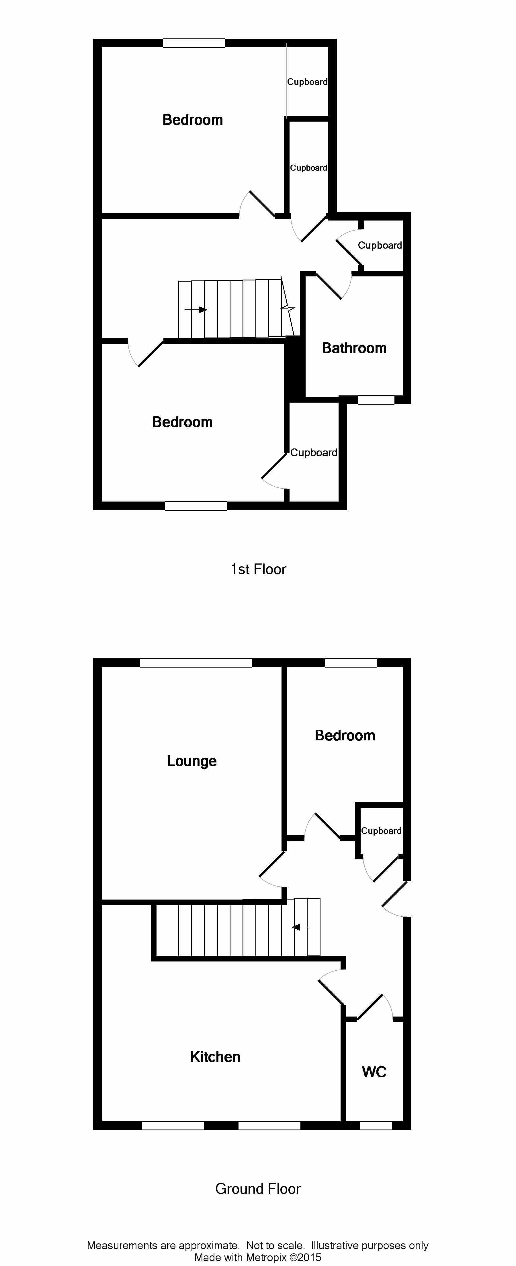 Floor Plan for 4B Lewis Street