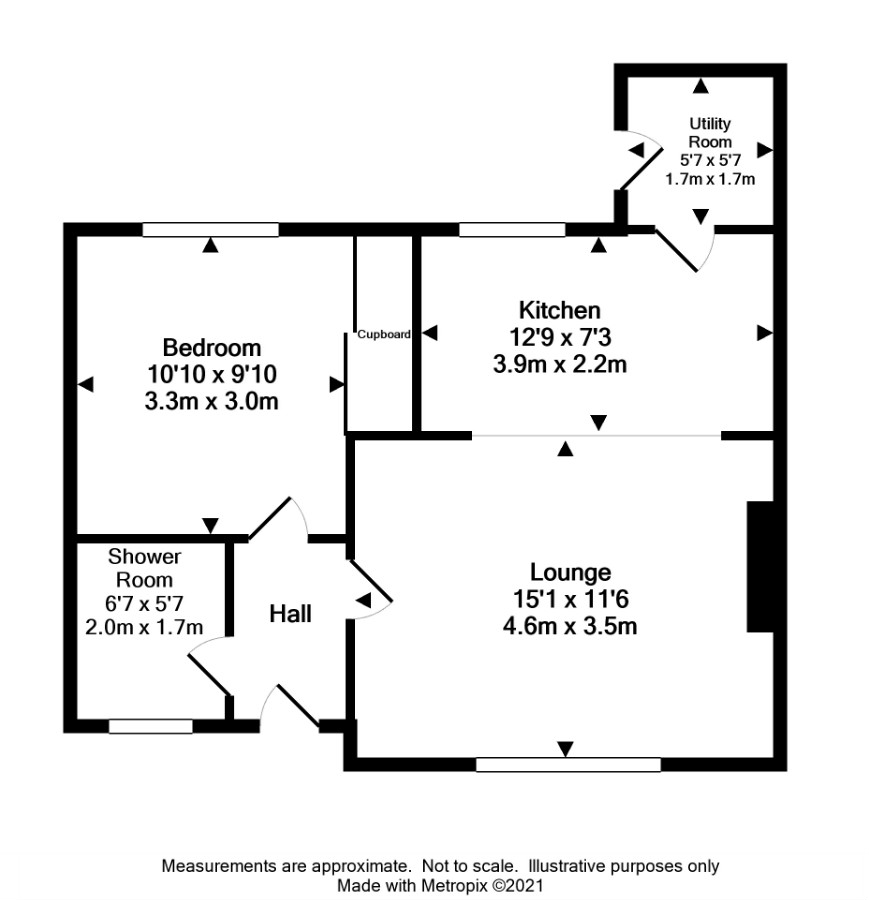 Floor Plan for 2 Church Road