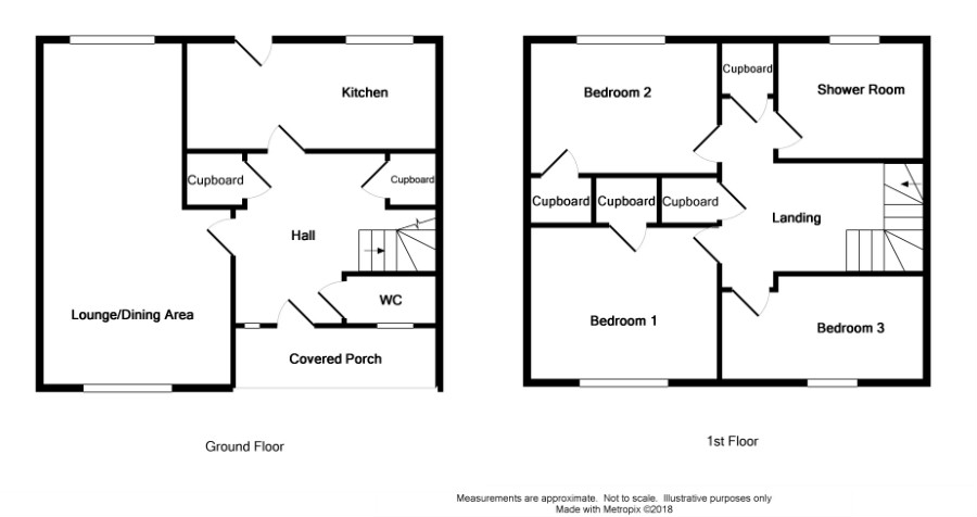 Floor Plan for 42 St Ninian's Avenue