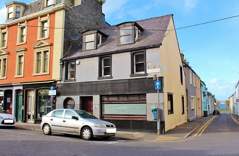 Photograph of 46 George Street, Stranraer