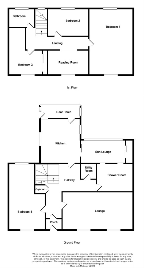Floor Plan for 'Ardbeg', 25 South Crescent