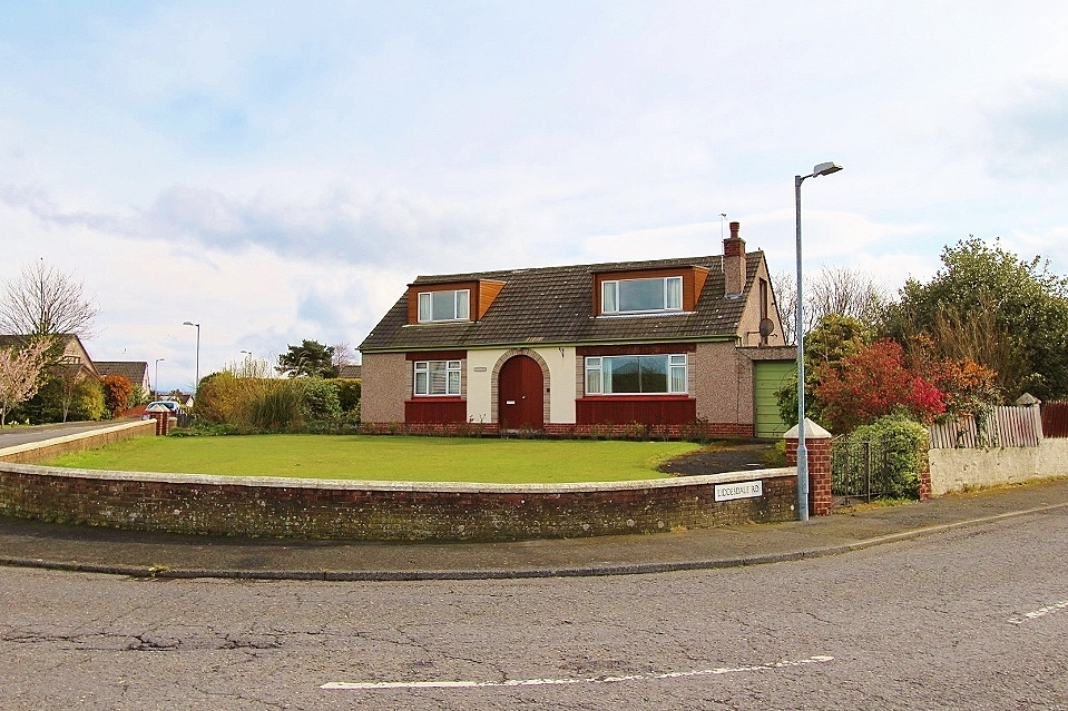 Photograph of 'Auchengith' Springbank Road, Stranraer