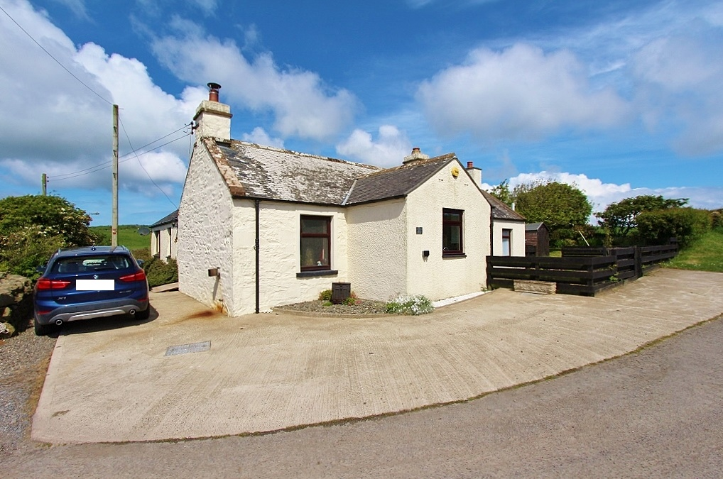 Photograph of 'Black Moss Cottage', Drummore
