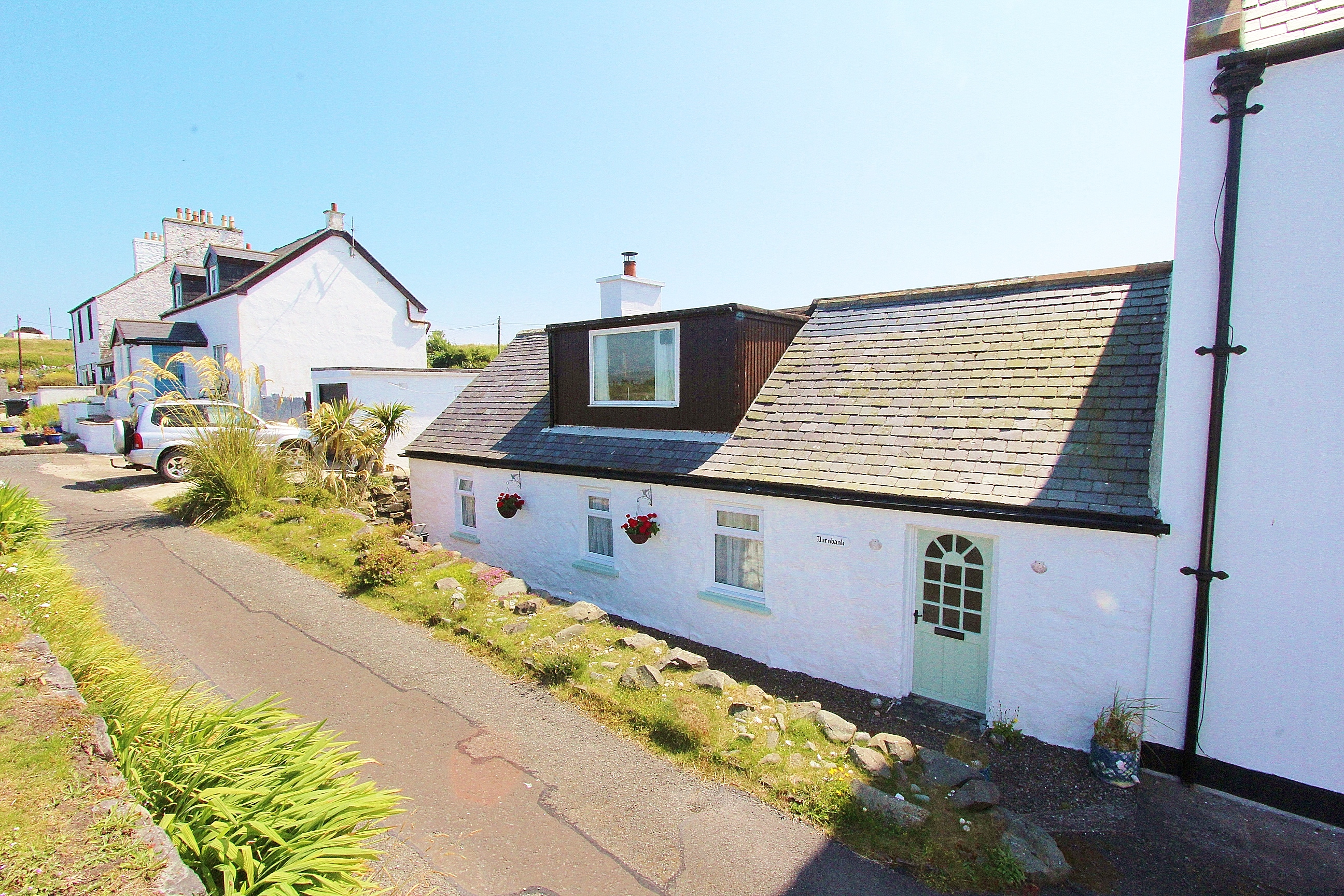 Photograph of 'Burnbank Cottage' 1 Laigh Row, Port Logan