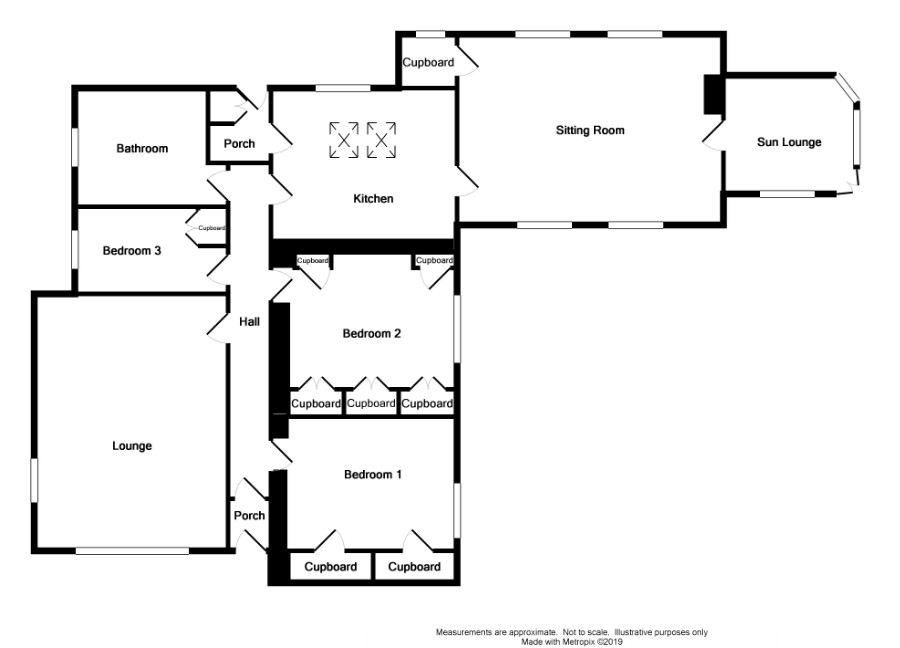Floor Plan for 'Burnside' Low Milton
