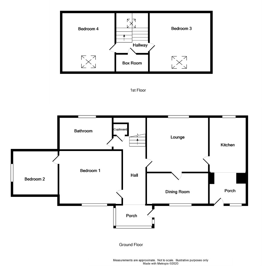 Floor Plan for Cairngarroch Farm