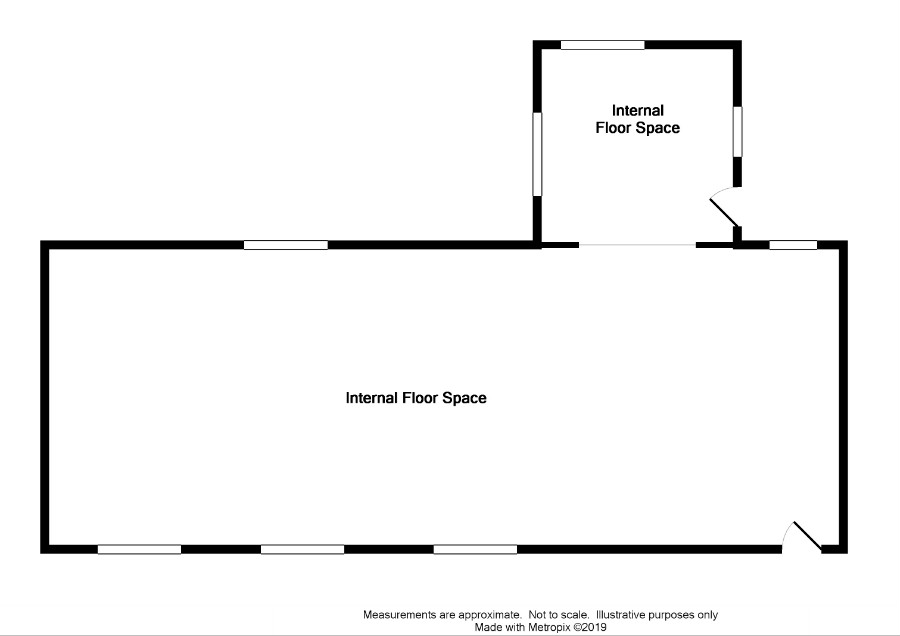 Floor Plan for High Curghie Cottage