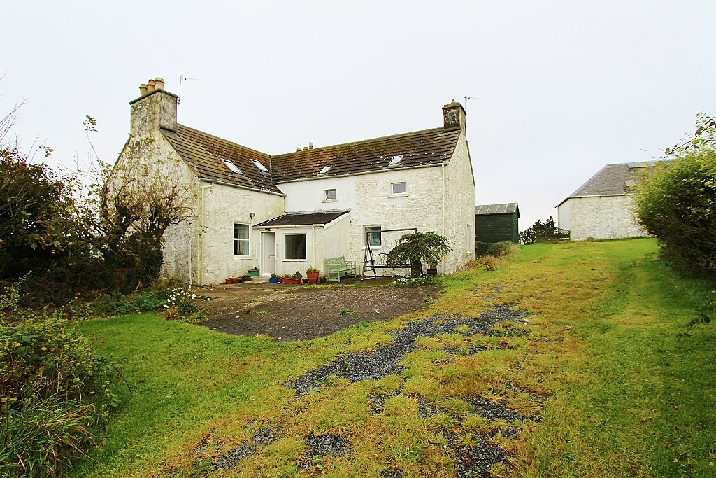 Photograph of Kirklauchline Farmhouse, Stoneykirk