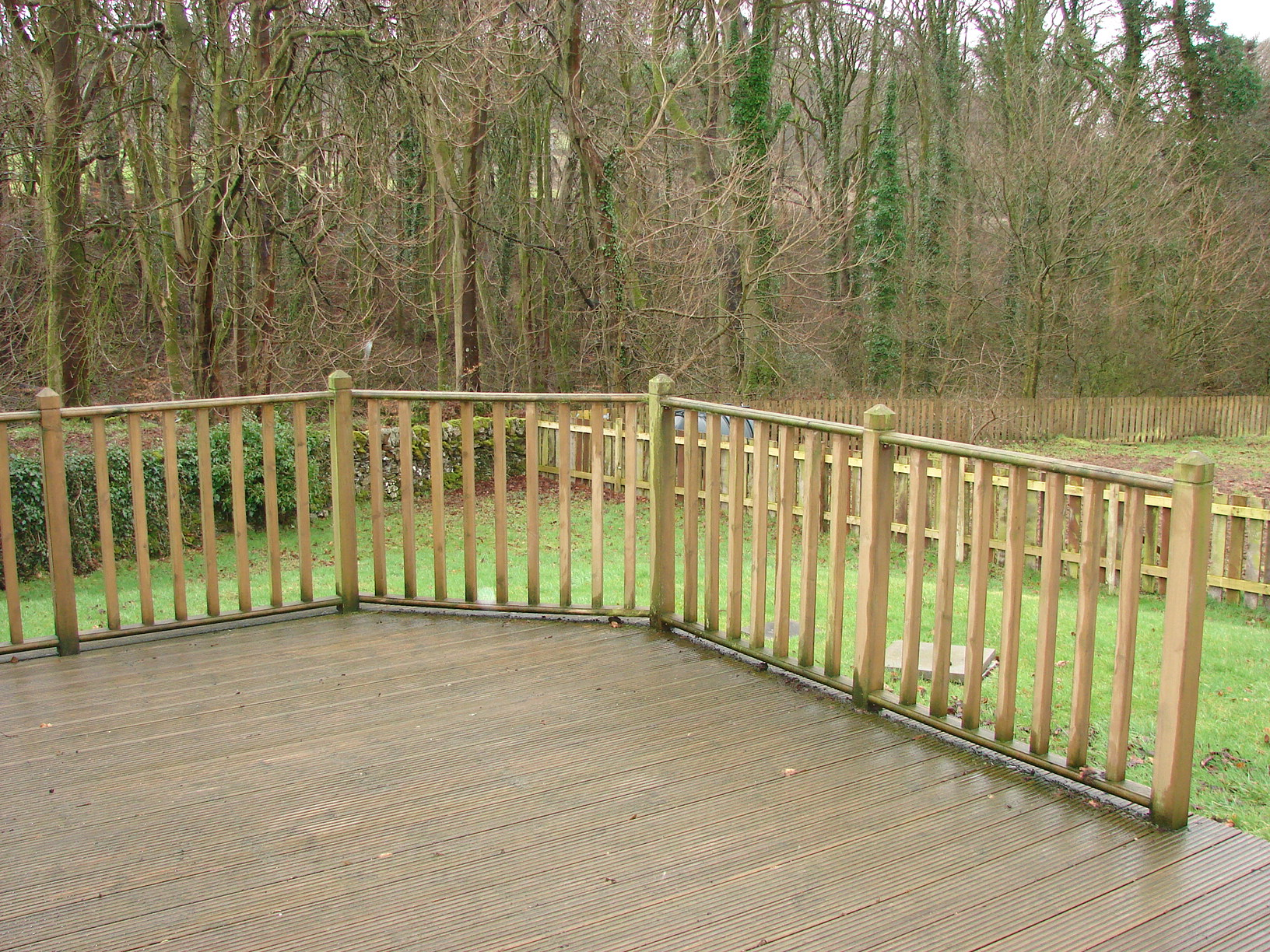 Photograph of Decking