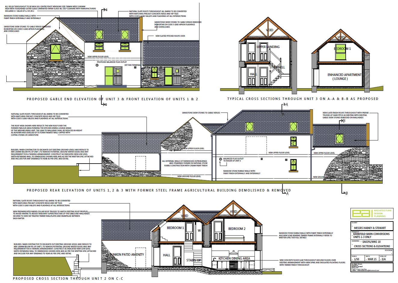 Barn Conversions Bankfield Farm Glenluce South West Scotland