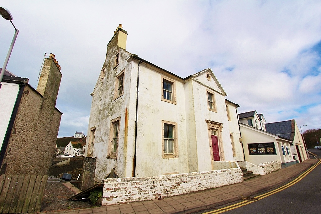 Photograph of 'Rockville' Main Street, Portpatrick