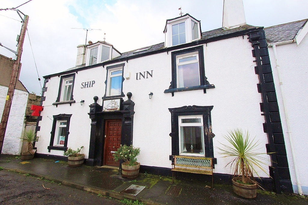 Photograph of 'The Ship Inn', Shore Street, Drummore