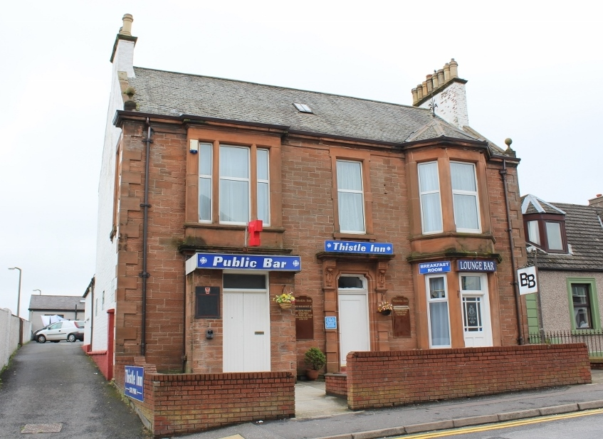 Photograph of Thistle Inn, Dalrymple Street, Stranraer