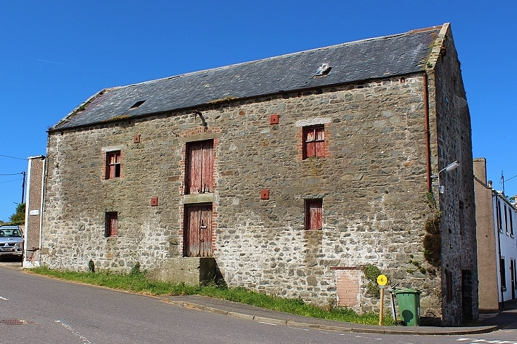 Photograph of Warehouse, 57 Mill Street, Drummore