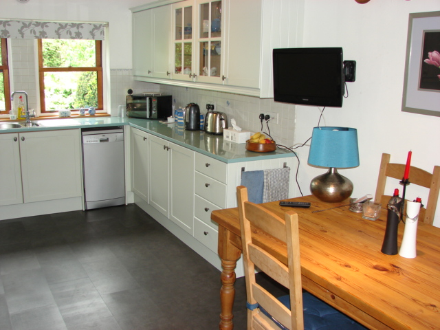 Photograph of Dining kitchen